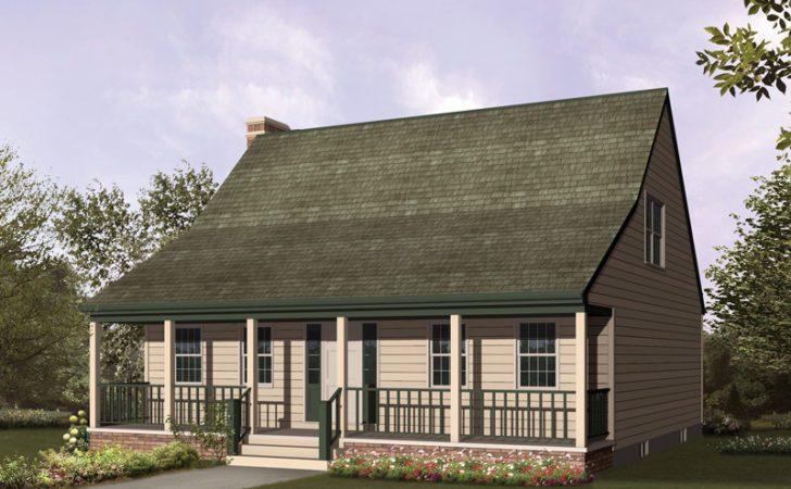 Acadian Style Floor Plans Small House