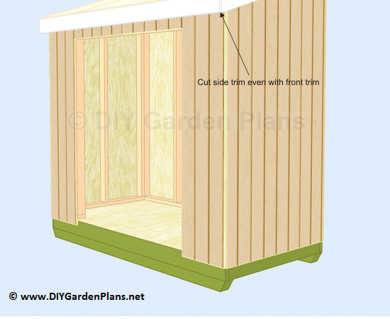 Access Shed Plans Tsp
