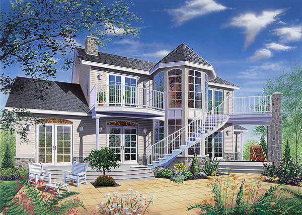 Adapting Luxury Home Plan Concept Design New