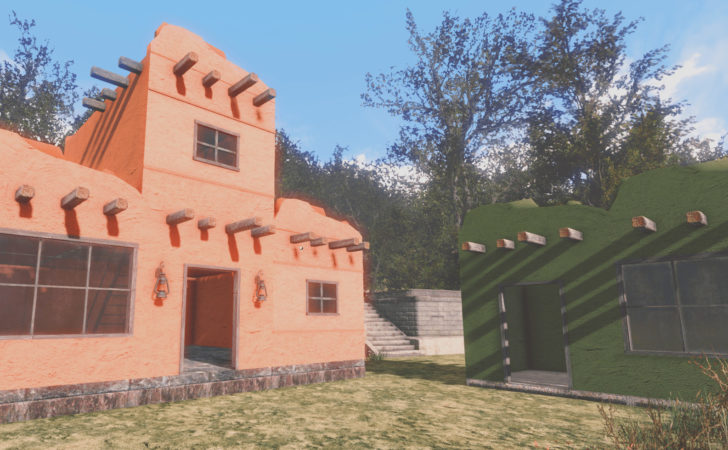 Adobe House Kit Fallout Nexus Mods Community