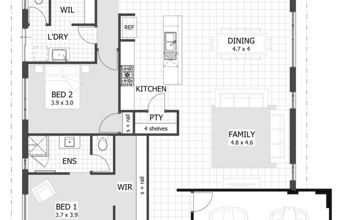 Affordable Bedroom House Plans