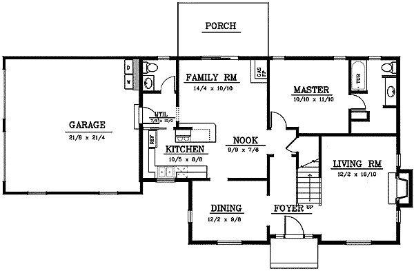 Affordable Cape Floor Master Suite Cad