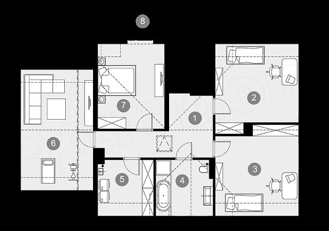 Affordable House Plan Large Families