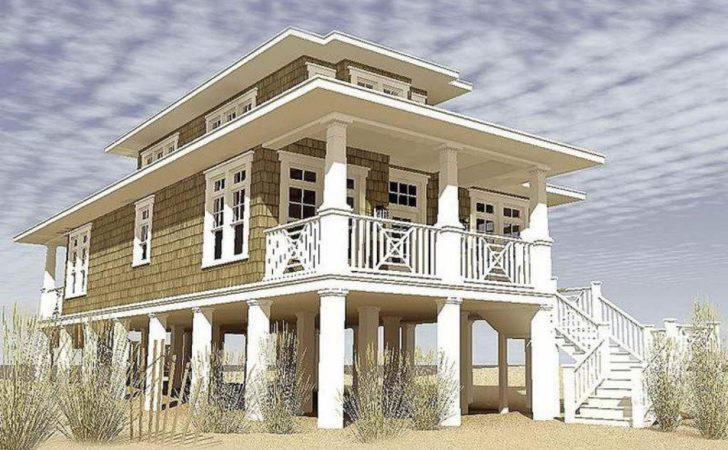 Affordable Modern Stilt House Plans Solid Substrates