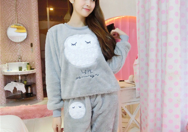Aliexpress Buy Winter New Thickened Cute Sleeping