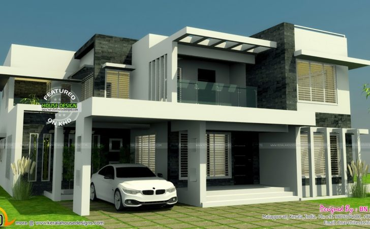 All One House Elevation Floor Plan Interiors