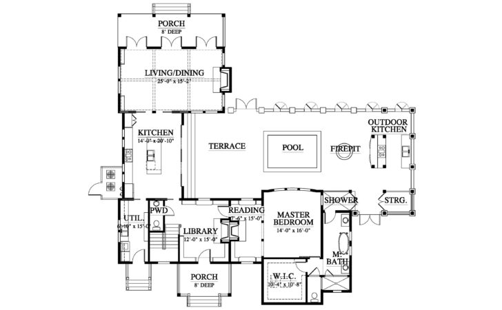 Allison Ramsey Architects Holiday House Plan