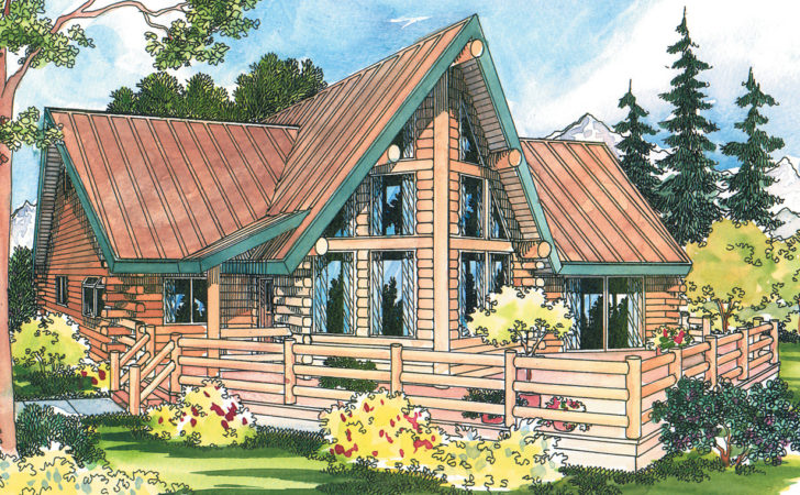 Altamont Frame House Plans Log Home
