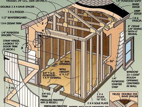 Amazing Backyard Shed Plans Building