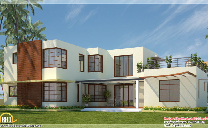 Amazing Contemporary House Plans Home