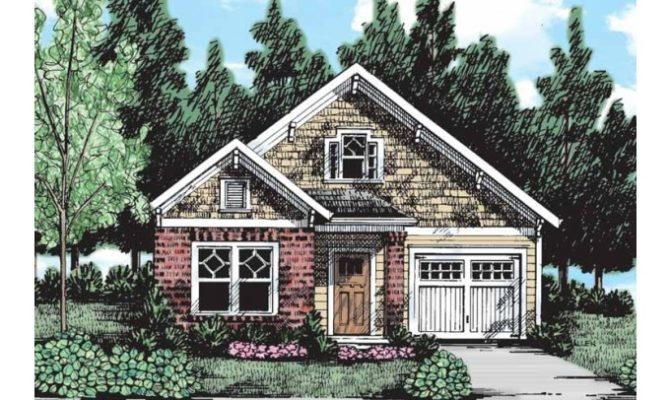 Amazing House Plans Narrow Lots Front Garage