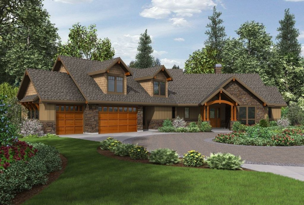 Amazing Western Ranch Style House Plans New Home