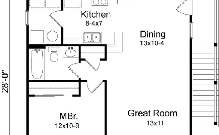 Amazingplans Garage Plan Rds Apartment