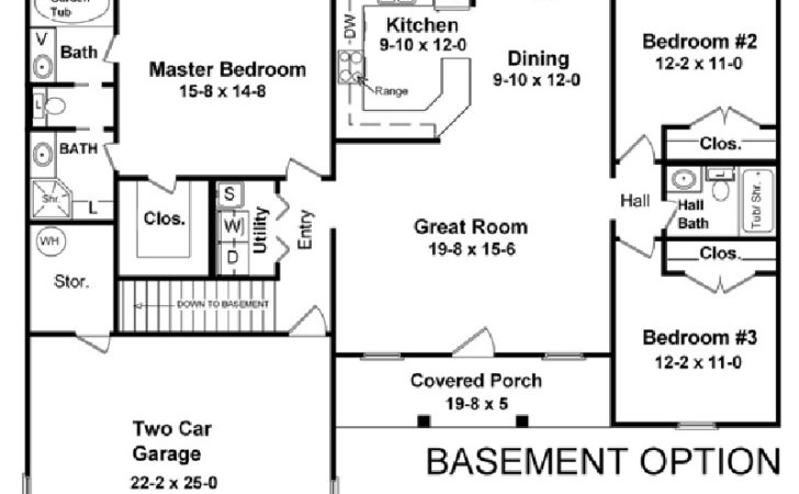 Amazingplans House Plan Hpg Country Ranch