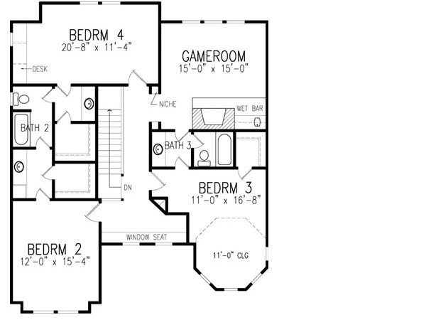 American House Plans Designs Home Design Style