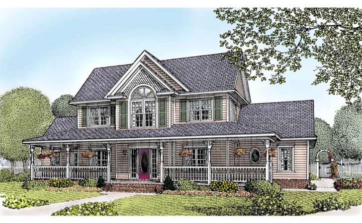 Amish Hill Country Farmhouse Plan House Plans