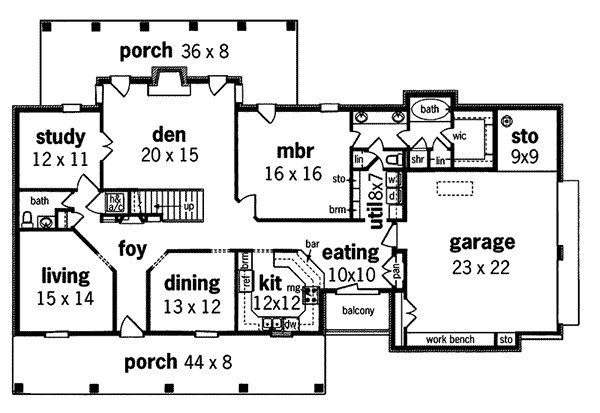 Amorel Luxury Southern Home Plan House Plans
