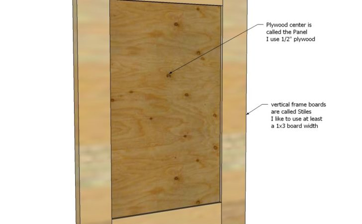Ana White Easy Frame Panel Doors Diy Projects