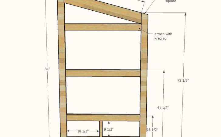 Ana White Outhouse Plan Cabin Diy Projects