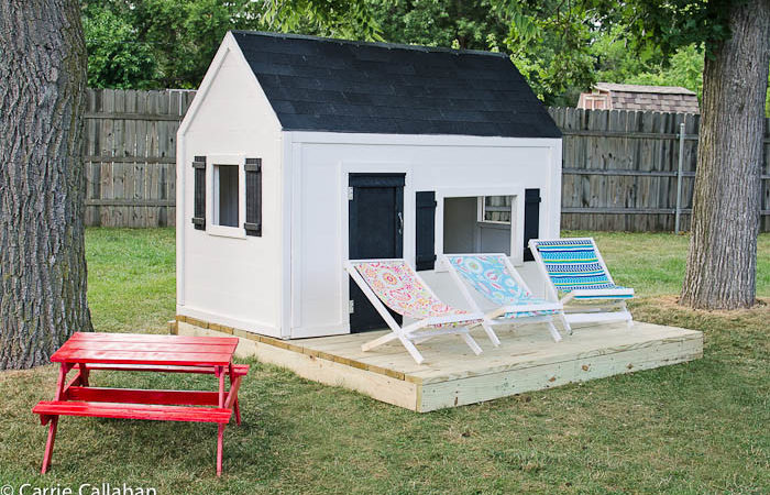Ana White Playhouse Big Build Diy Projects