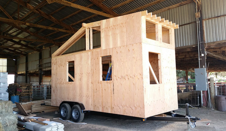 Angels Toolbelts Gather Build Tiny House