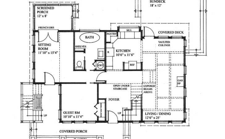 Antares Vacation Home Plan House Plans More