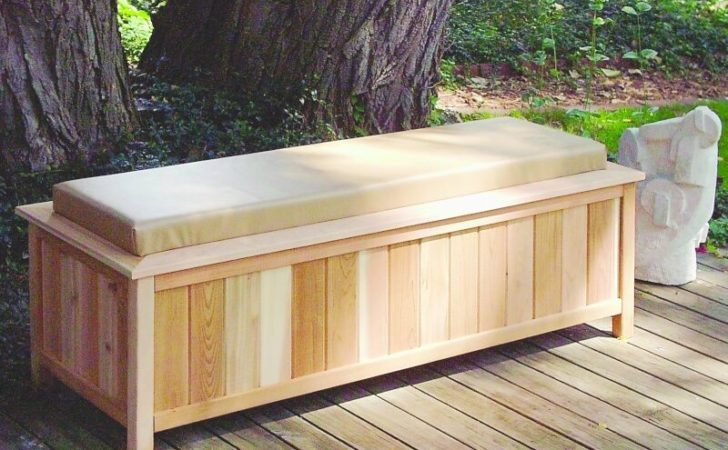 Any Ideas Plans Patio Deck Storage Boxes