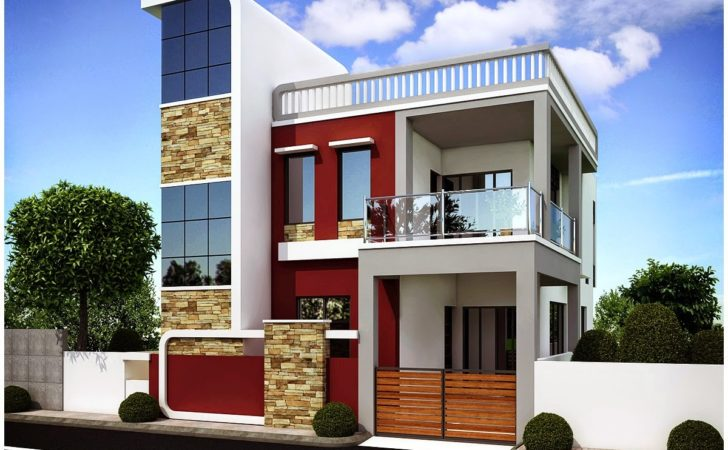 Apartment Architecture Elevation Contemporary Office