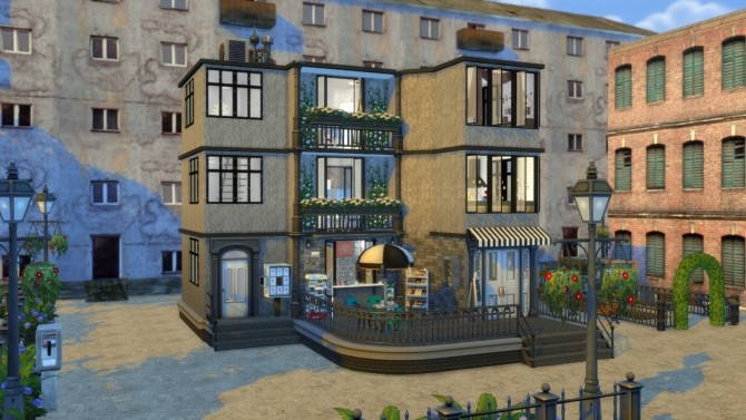 Apartment Coffee Shop Dinha Gamer Sims Updates