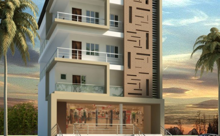 Apartment Elevation Design Architectural