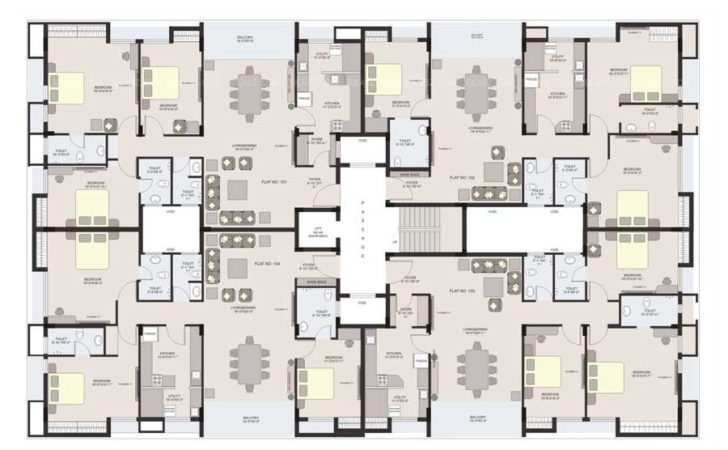 Apartment Floor Plan Best Design Company