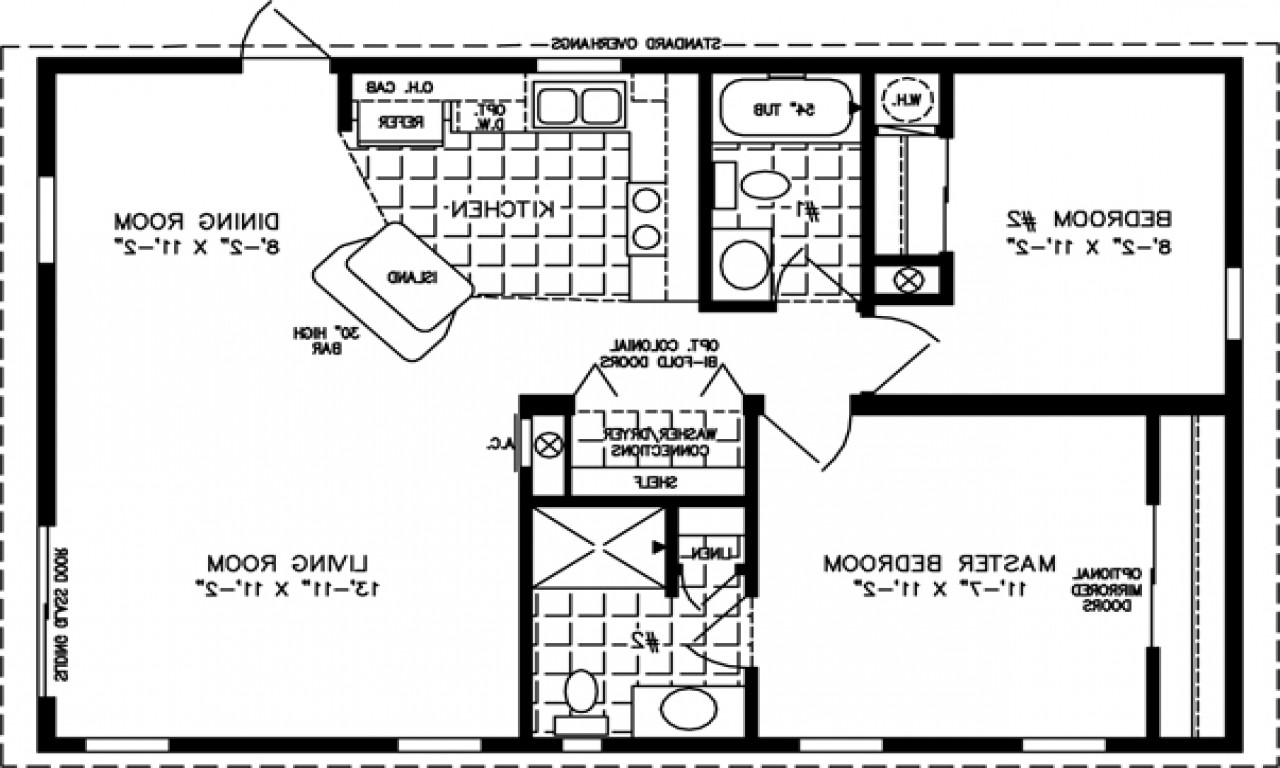 Apartment Floor Plan Modern House