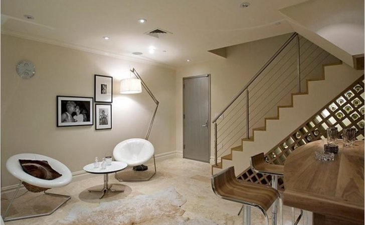 Apartment Modern Basement Ideas