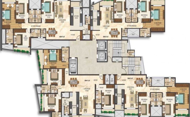 Apartments Penthouse Apartment Floor Plans Pre Launch