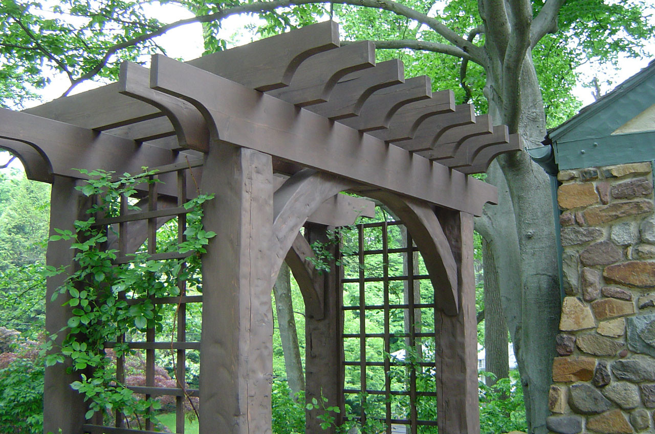Arbor Gate Wooden Tool Galleries