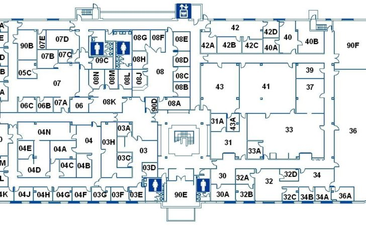 Architectural Floor Plans Office Building Omahdesigns