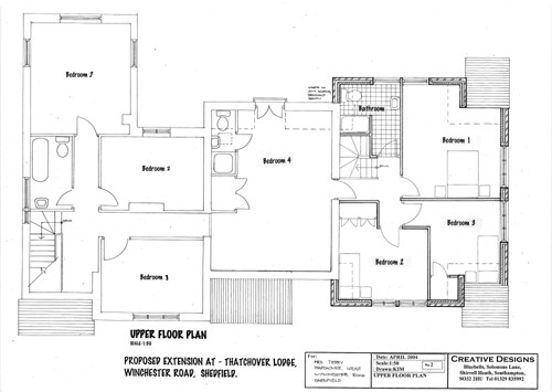 Architectural House Design Modern Plans Fareham