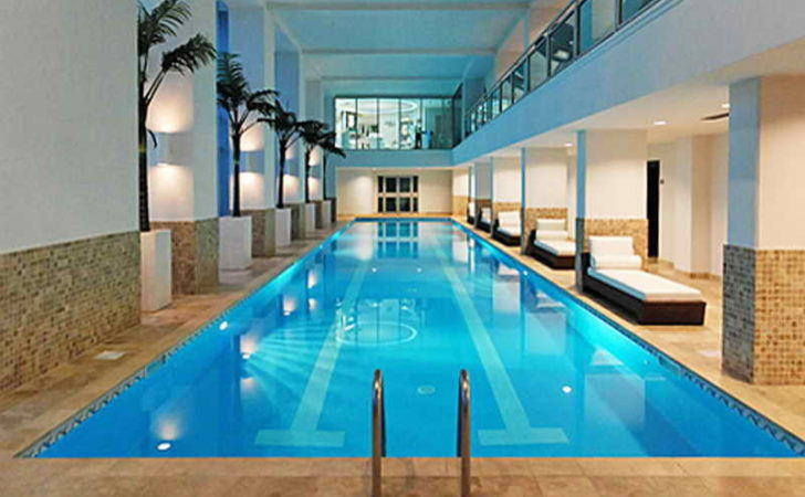 Architecture Luxury Home Plans Indoor Pool
