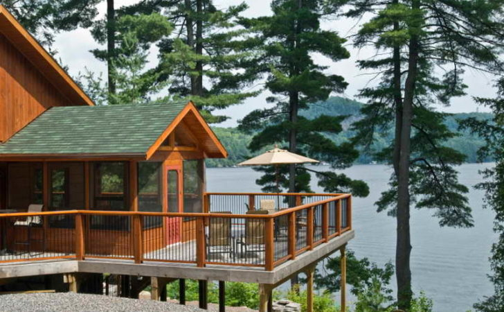 Architecture Plan Small Lakefront Home Plans
