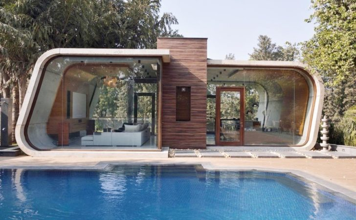 Architecture Sculptural Pool House India