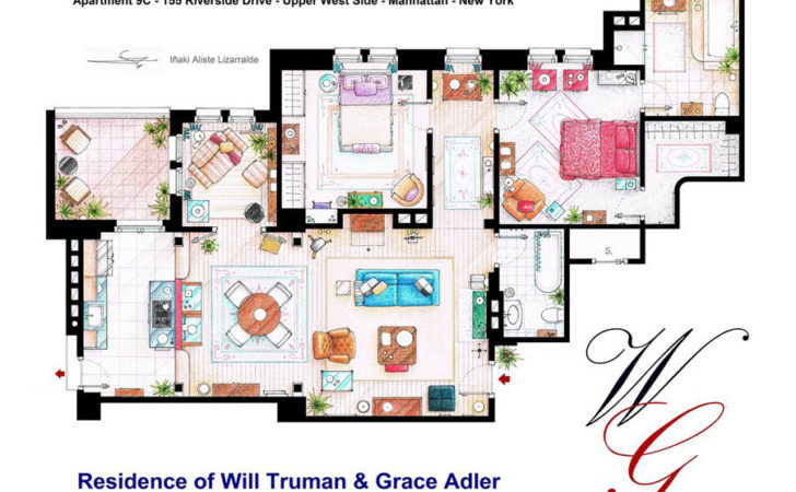 Artist Sketches Floor Plans Popular Homes