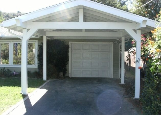 Attached Carport Designs Pessimizma Garage