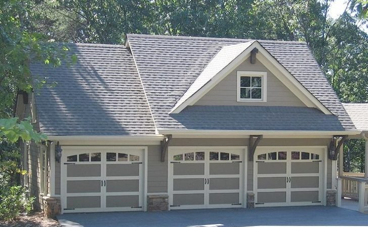 Attached Garage Plans Living Quarters Modern Style