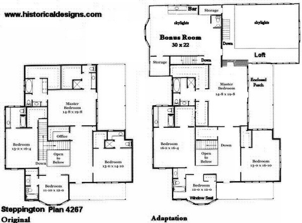 Authentic Historical House Plans Find