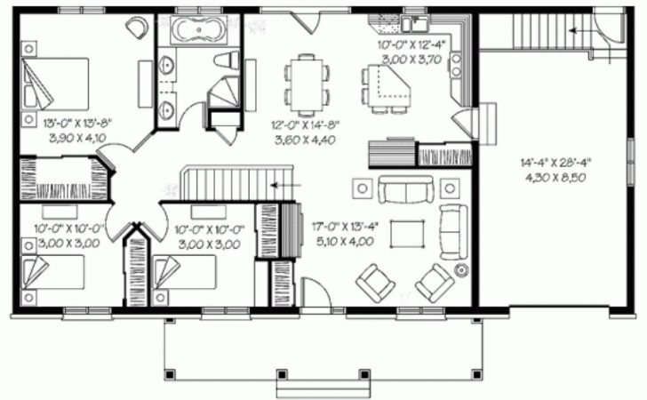 Awesome Bedroom Bungalow House Plans Philippines