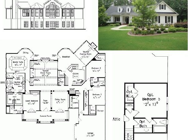 Awesome Colonial Home Plans Results Dutch