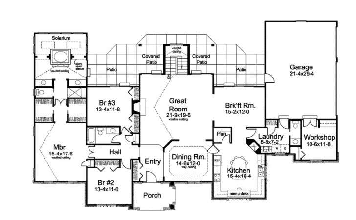 Awesome Country House Plans One Story