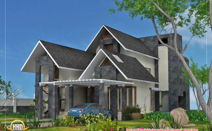 Awesome Dream Homes Plans Kerala Home Design Floor