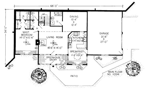 Awesome Earth Contact House Plans Sheltered