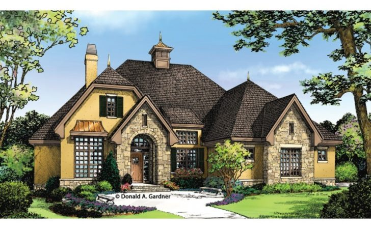 Awesome European Cottages House Plans
